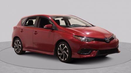 2017 Toyota Corolla iM 4dr HB CVT AUTO A/C GR ELECT MAGS CAMERA BLUETOOTH