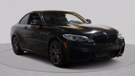 2014 BMW M235i AUTO AC GR ELEC MAGS TOIT CAM RECULE BLUETOOTH