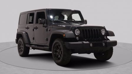 2017 Jeep Wrangler Unlimited Willys Wheeler AWD AUTO A/C GR ELECT TOIT MAGS BLU                    à Saint-Jérôme