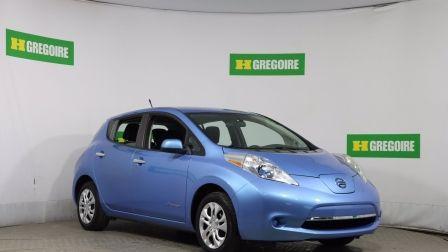 2014 Nissan Leaf S AUTO A/C GR ÉLECT CAM RECUL BLUETOOTH