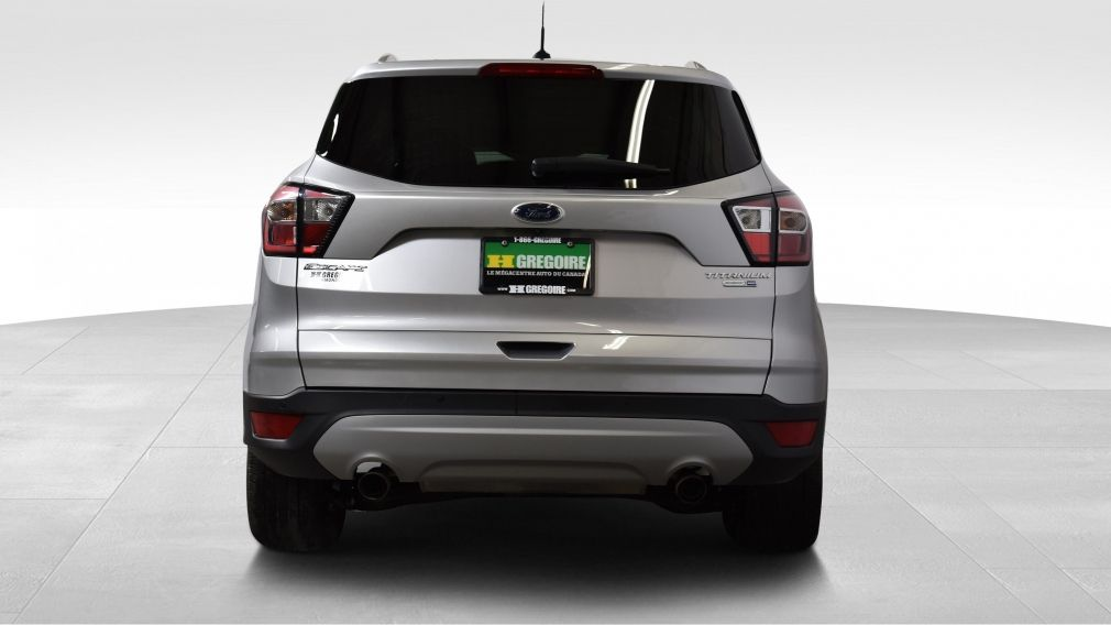 Ford St Eustache >> Used 2017 Ford Escape Titanium AWD Cuir TOIT PANORAMIQUE for sale at HGregoire