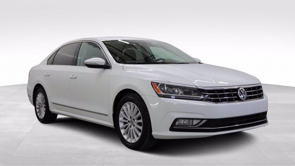 2017 Volkswagen Passat Comfortline, Cuir, Toit, Apple Carplay, Démarreur #
