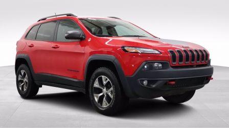 2018 Jeep Cherokee Trailhawk, Cuir, Mags                    à Granby