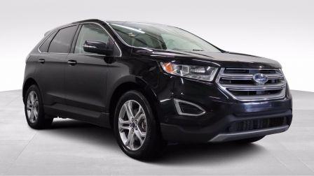 2016 Ford EDGE Titanium, V6, AWD, Cuir, Toit, Nav                    à Sherbrooke