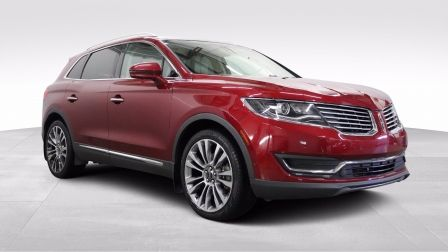 2016 Lincoln MKX Reserve, Camera 360, Navigation, Cuir, Toit pano