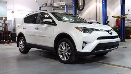 2018 Toyota Rav 4 Limited CUIR JAMAIS ACCIDENTÉ + TOIT + GPS + AWD                    à Saint-Jérôme