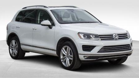 2017 Volkswagen Touareg SPORTLINE, AWD, TOIT PANO, GPS, CUIR, AUBAINE !!!                    à Saint-Jérôme