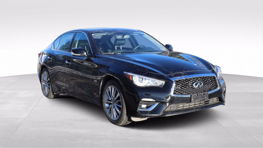 2018 Infiniti Q50 2.0t LUXE CUIR TOIT MAGS #
