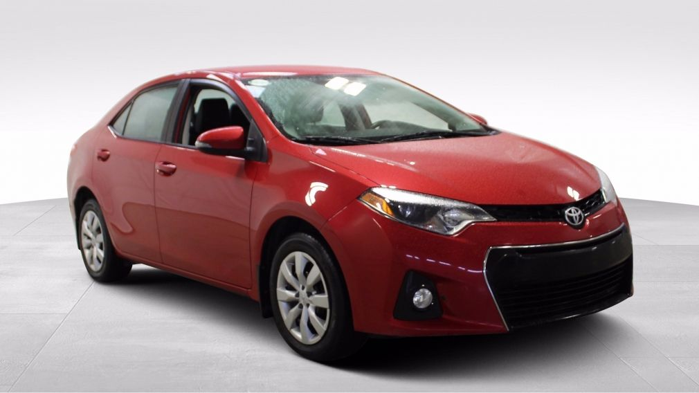2016 Toyota Corolla S A/C Gr-Électrique Caméra Bluetooth #
