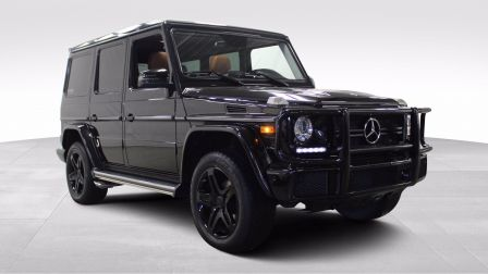 2017 Mercedes Benz G550 AMG V8 Twin Turbo Cuir Toit-Ouvrant Navigation