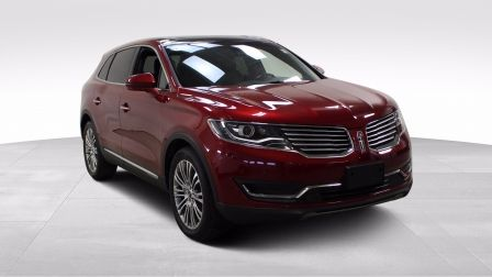 2017 Lincoln MKX Reserve Awd Cuir Toit-Panoramique Navigation