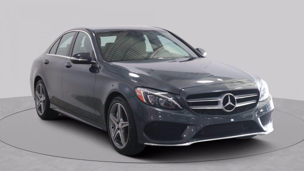 2015 Mercedes Benz C Class AUTO A/C GR ÉLECT CUIR MAGS CAM RECUL BLUETOOTH #