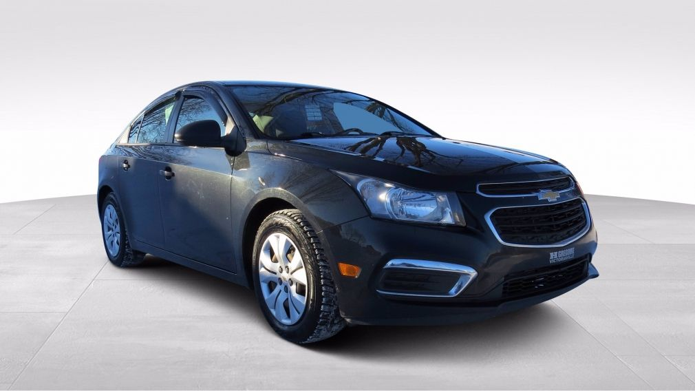 2016 Chevrolet Cruze LS MAN ABS ON STAR BLUETOOTH GR ELECTRIQUE #