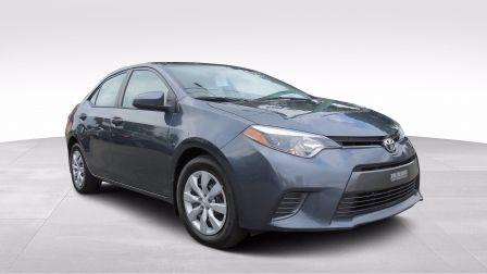 2016 Toyota Corolla LE AUT A/C CAMERA BLUETOOTH GR ELECTRIQUE                    à Saguenay