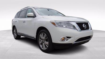 2014 Nissan Pathfinder Platinum AUT AWD A/C MAGS CUIR CAMERA NAVI 7 PASS                    à Sherbrooke